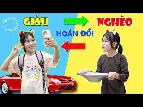 Hoán Đổi Thân Phận Cô Bé Ích Kỷ ♥ Min Min TV Minh Khoa