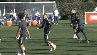 Download Video Brazil Train In London Ahead Of Saudi Arabia Friendly MP3 3GP MP4