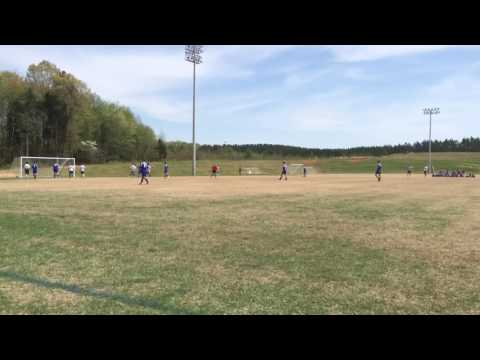 Free kick | Ryan Klose Wake Forest High school '17