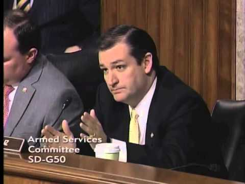 Sen. Ted Cruz Questioning on Benghazi in Armed Forces Committee - 02/07/2013