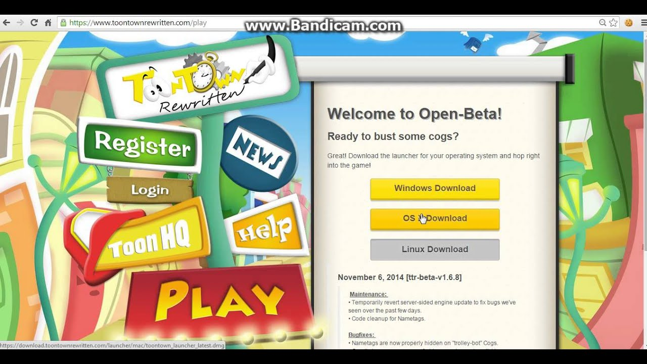 How to download toontown offline launcher 10 subscriber special.