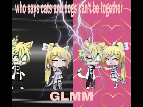 who says cats and dogs can't be together||GLMM||gacha life