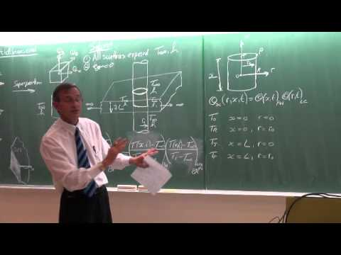 Lecture 13 (2014). Transient heat conduction. Multidimensional systems