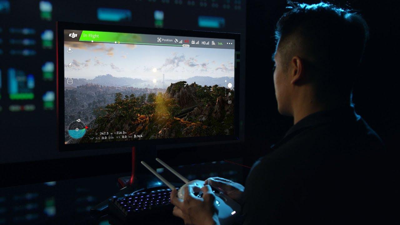 DJI - Introducing DJI Flight Simulator