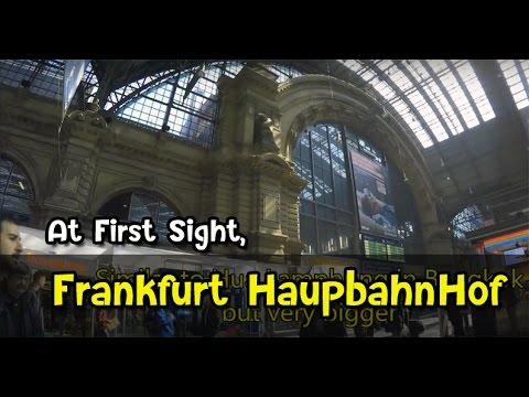 [เที่ยวยุโรป] Frankfurt Hbf - At first sight in Frankfurt : Germany-Austria Travel Vlog Ep14
