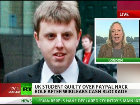 Time To Pay, Pal: UK student convicted over WikiLeaks revenge attack