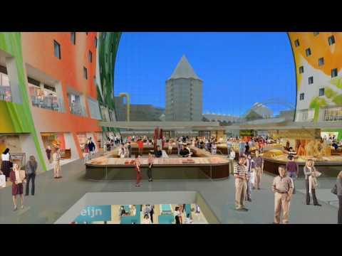 Introfilm Markthal Rotterdam - De eerste Markthal van Nederland