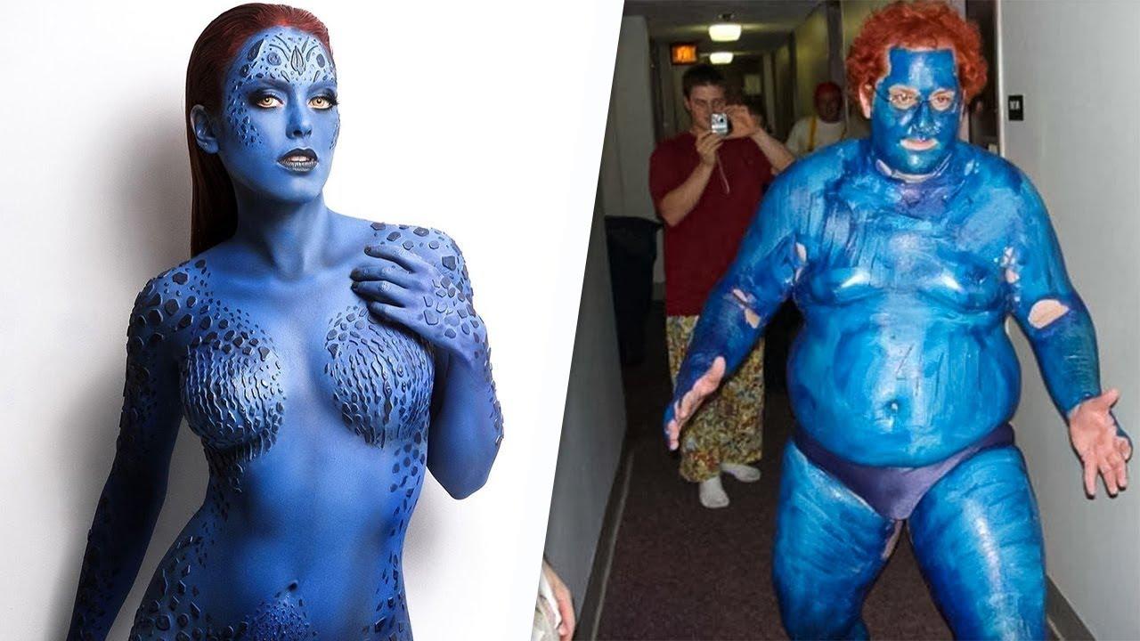 En Utanç Verici 12 Kostümlü Canlandırma