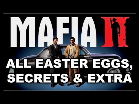 Mafia 2 All Easter Eggs, Secrets & Extra HD