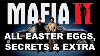 Mafia 2 All Easter Eggs, Secrets & Extra HD