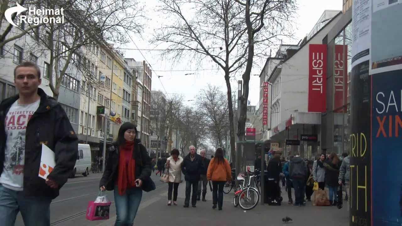Karlsruhe Fußgängerzone