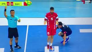 ハンドボール 2018  アジア男子ジュニア選手権準決勝 日本vsバーレーン