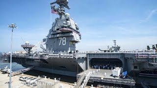 This Is Why There are No Urinals on the U.S. Navy's Newest Supercarrier