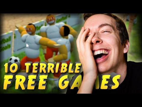 PLAYING 10 TERRIBLE FREE GAMES!