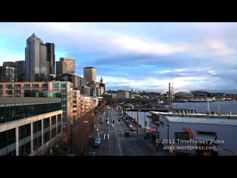 SEATTLE WATERFRONT IN HD - SPECTACULAR