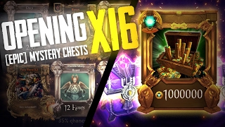 Vainglory - Chest Opening: RUN FOR 1 MILLION ICE!! [16 Chests]