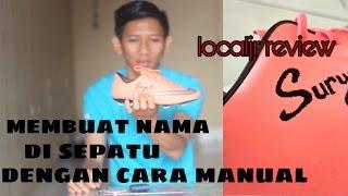 Cara membuat nama di sepatubola dan futsal secara manual (how to make manual boot id)