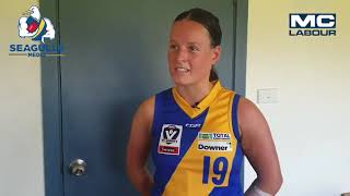 Seagulls Media | Erin Meade post game - VFLW Round 9