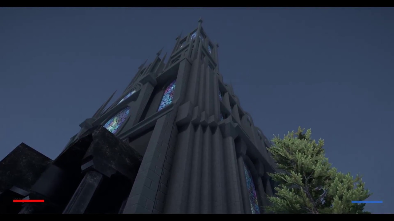 Unity 2018 is insane  I made the Cathedral only by using Unity and  ProBuilder