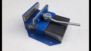 Homemade A Vise with quick clamping function