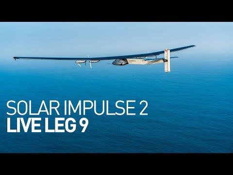 LEG 9 LIVE: Solar Impulse Airplane - Day 3 - Energy Neutral Morning