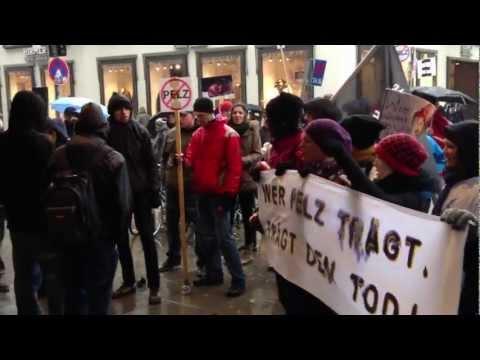 Protest gegen Kaufhaus