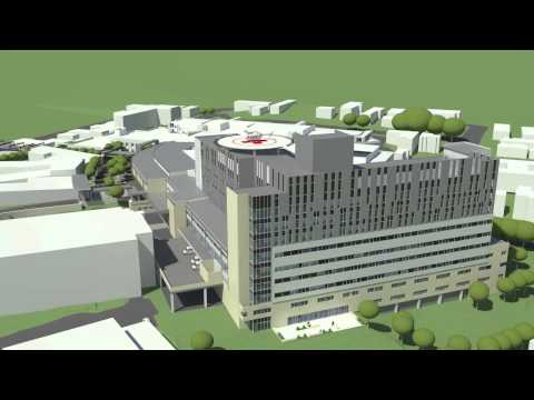 Gosford Hospital redevelopment new tower fly through