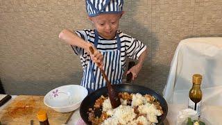 욘니의 요리-스팸김치볶음밥!!!