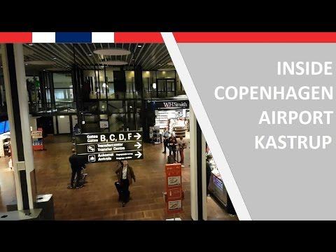 1 minute inside Copenhagen airport Kastrup on November 11, 2016