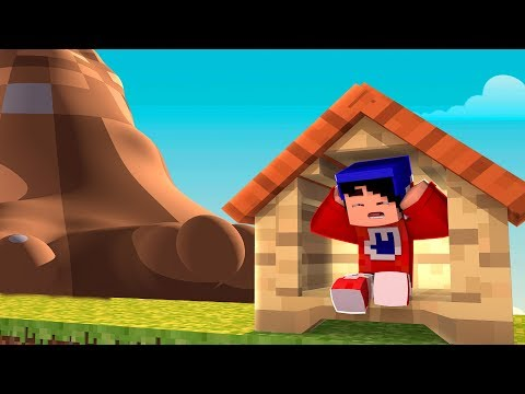Minecraft: DESAFIO DA BASE 100% SEGURA CONTRA TSUNAMI DE TERRA REALISTA! « Nitro »