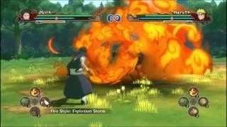 Naruto Shippuden UNSR All Fire Style Jutsu (Katon)