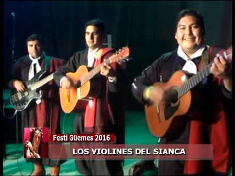 Los Violines del Sianca 30-08-2016