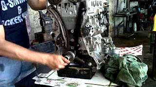 Prueba de tiempo motor Mazda 6