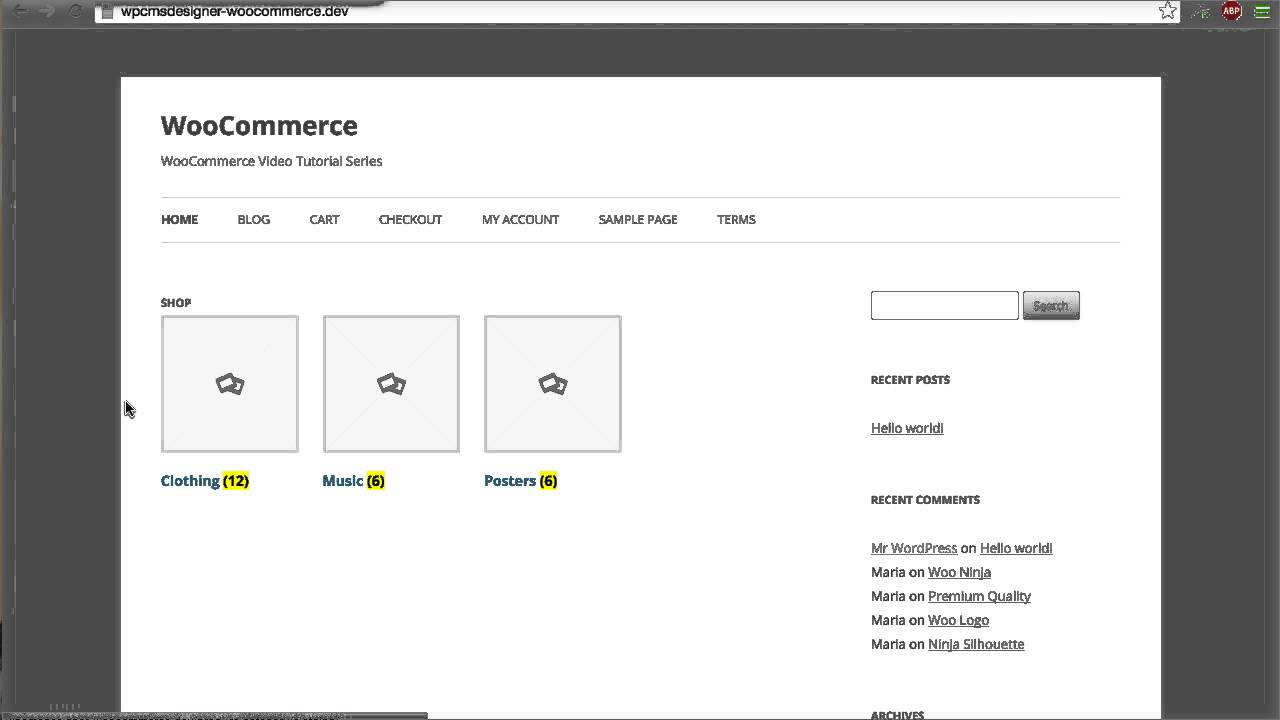 543f8b1337cc 06 - How To Display Product Categories On Shop Page  (WooCommerce ...