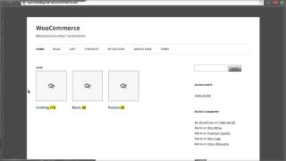 06 - How To Display Product Categories On Shop Page? (WooCommerce Tutorial) thumbnail