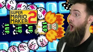 He Tried to Make the Toughest and Moistest Garbage in HISTORY. [SUPER MARIO MAKER 2]