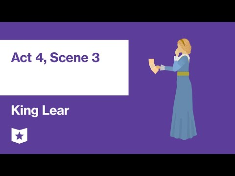 King Lear By William Shakespeare | Act 4, Scene 3