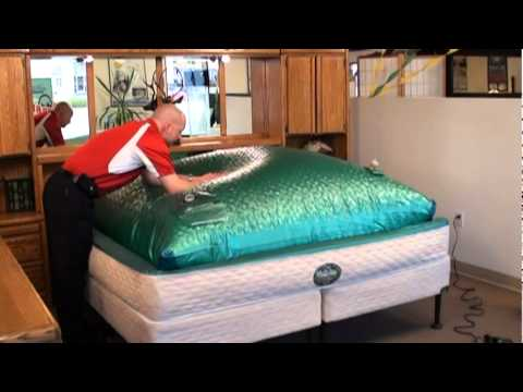 innomax perfection frame free deep fill waterbed assembly video softside fluid - Water Bed Frame