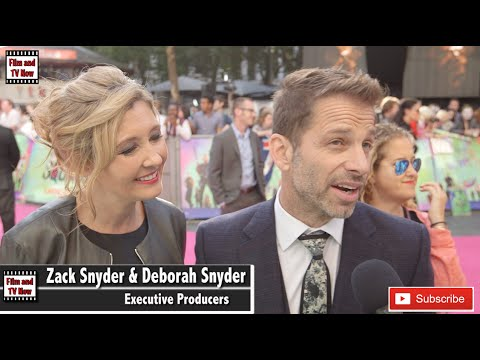 Zack Snyder & Deborah Snyder Share Their Excitement For Justice League At Suicide Squad European Pre