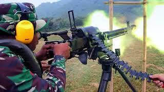 Senapan Mesin Berat DShK-38 Masih Berjaya di Tiga Matra TNI