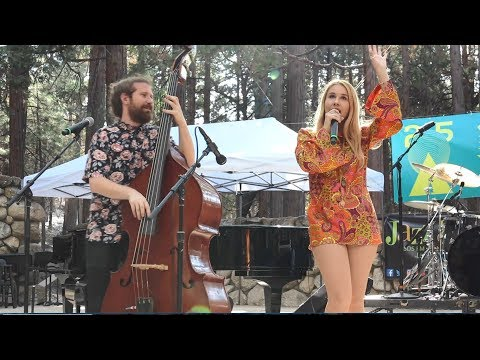 Haley Reinhart & Casey Abrams 'Time of the Season' Idyllwild Arts #JazzInThePines 2018