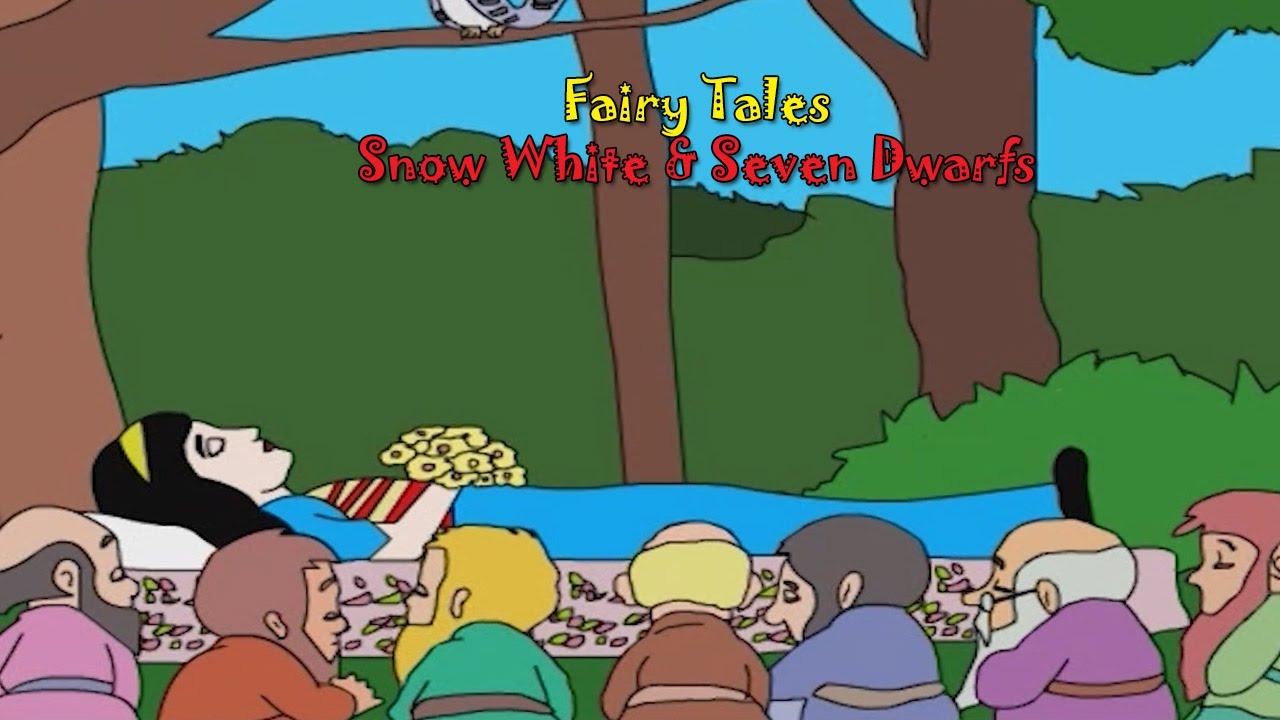 Snow White ani Saat Butke   Snow White & 7 Dwarfs   Fairy Tales for Kids    Pari Cha Marathi Goshti