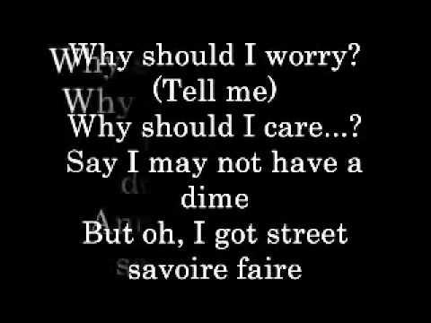Why Should I Worry Lyrics