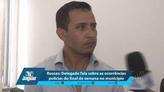 Russas: Delegado Dr. Fabio Amaral fala sobre o triplo homicídio e outras ocorrências polícias.