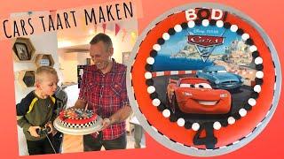 Cars Taart Maken - Decoreren - (Bodi 4 jaar - daanliesenkids 2019)
