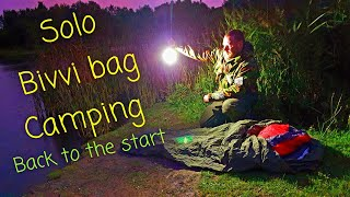 Solo Bivvi bag stealth camping in a urban local, back to the place I started 5 years ago.