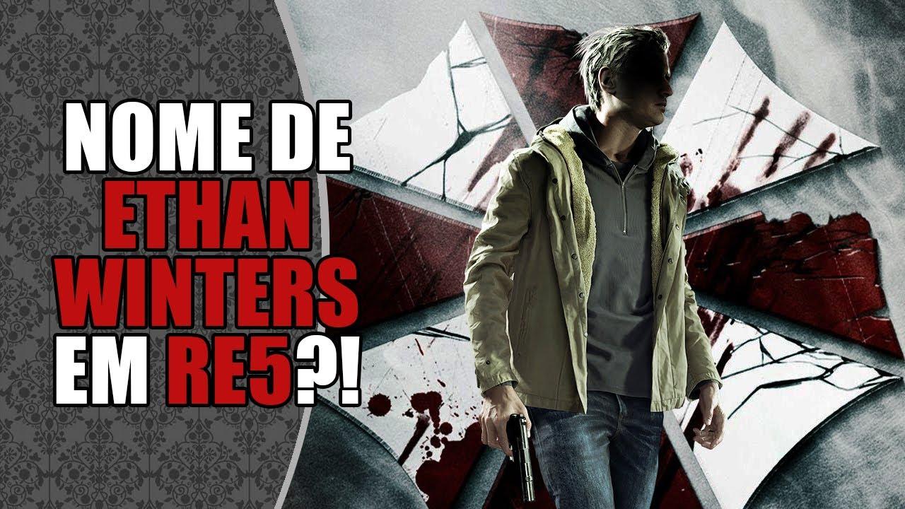 Nome de ETHAN WINTERS aparece em RESIDENT EVIL5? Ethan era da UMBRELLA?!   RE-Farsas