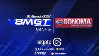 iRacing #V8MGT 2017 - División Supercars - Sonoma - Carrera 6/6 thumbnail