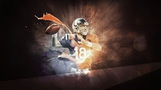"PEYTON MANNING ~ ""THE SHERIFF"" ~ HALL OF FAME"
