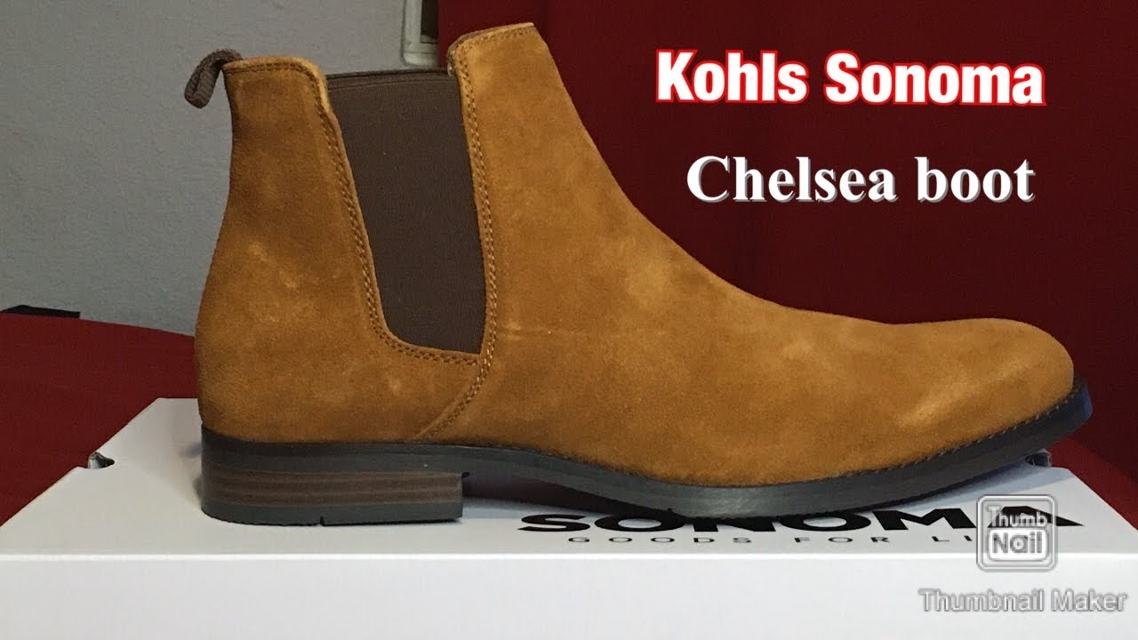 Sonoma Chelsea boot Review *Unboxing